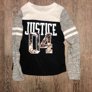 Justice Size 8 Shirt